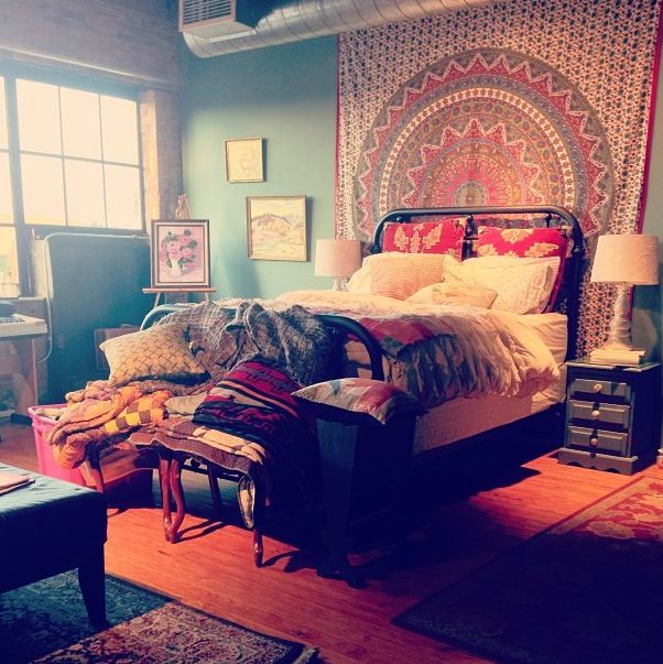 Hippie Bohemian Bedroom
