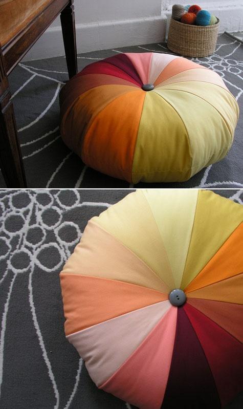 Rainbow Pouf