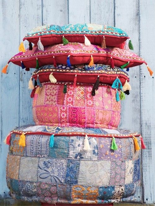 boho floor pillows