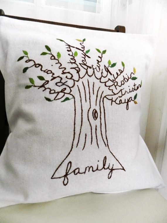 12 Cool Embroidered Throw Pillows