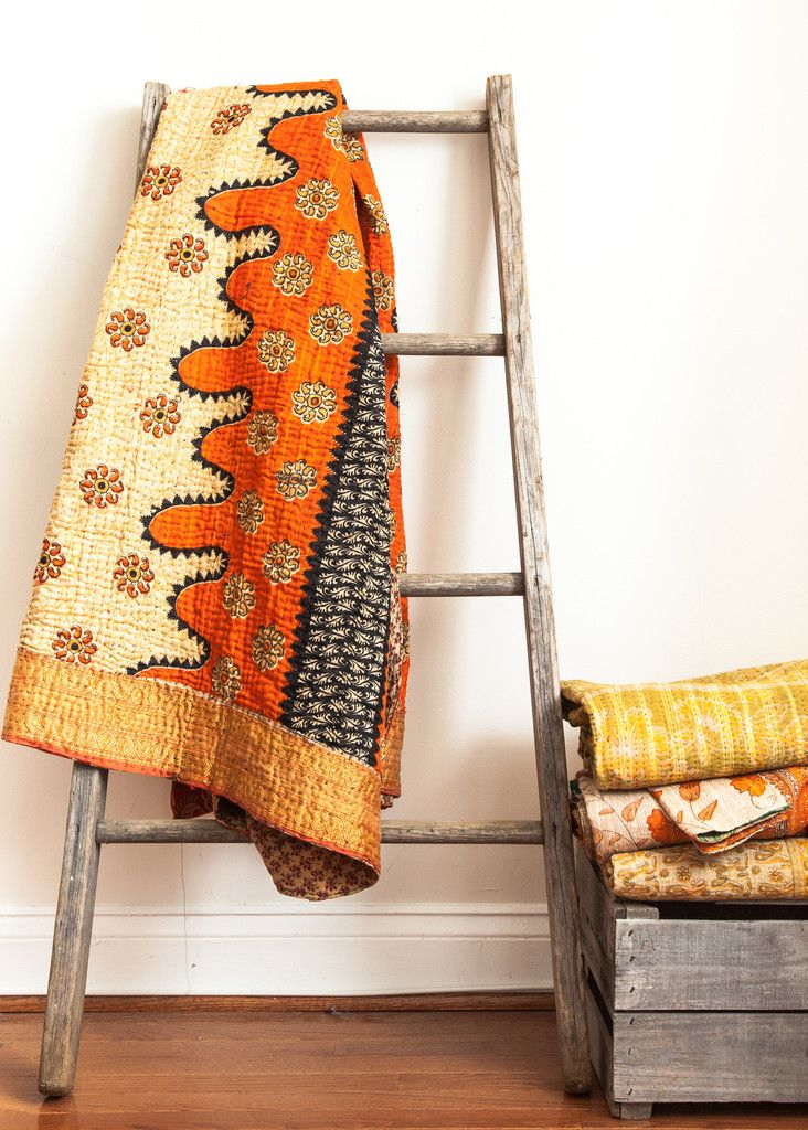 04 - Kantha quilt