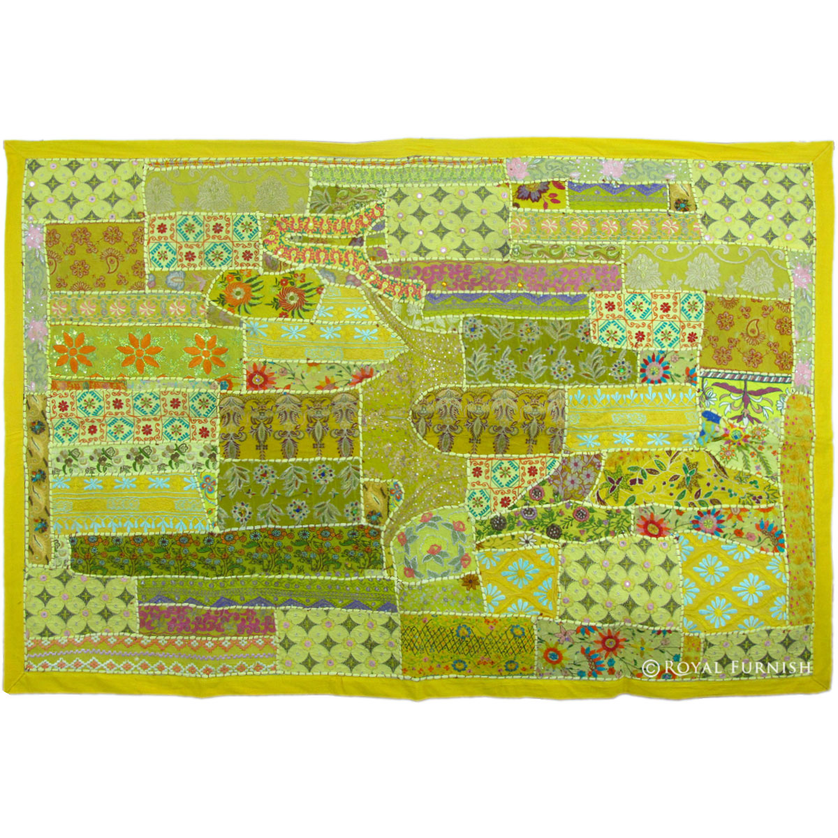 Patchwork tapestry