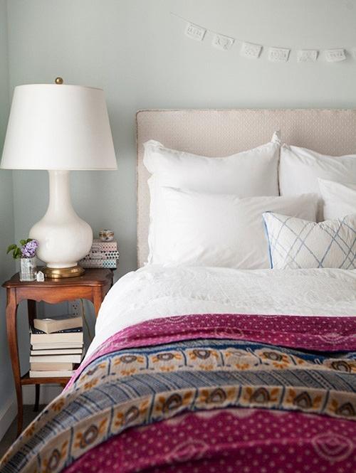 kantha quilt room