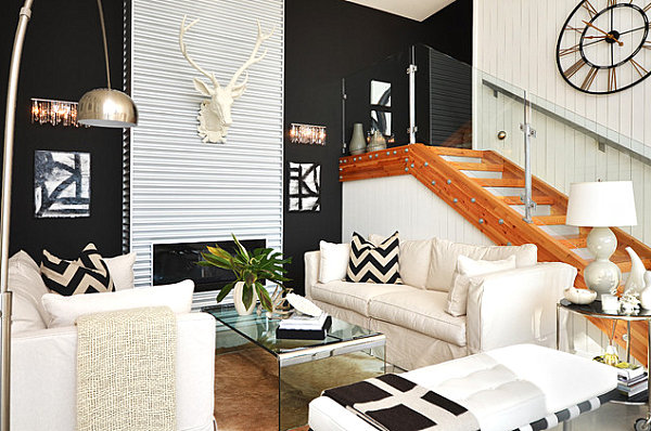 Bold-patterns-in-a-compact-living-room