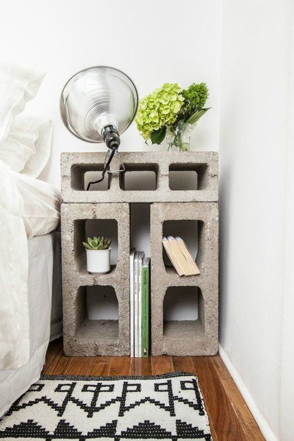 bricks-cement-nightstand