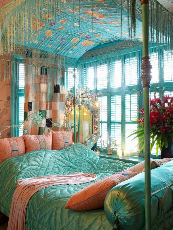 21 - Bohemian Bedroom Design