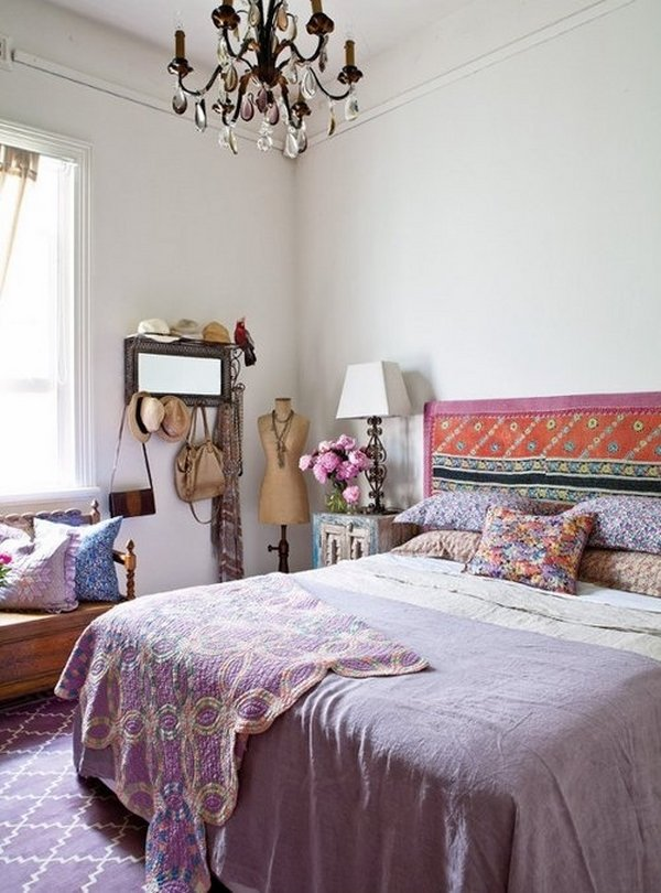 bohemian-bedroom-ideas-purple-colors