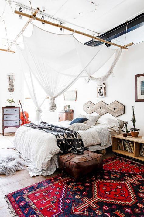 Bohemian Chic Bedroom 07