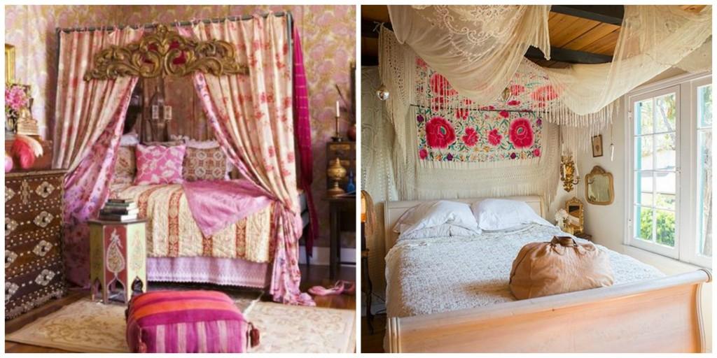 bohemian style room idea 19