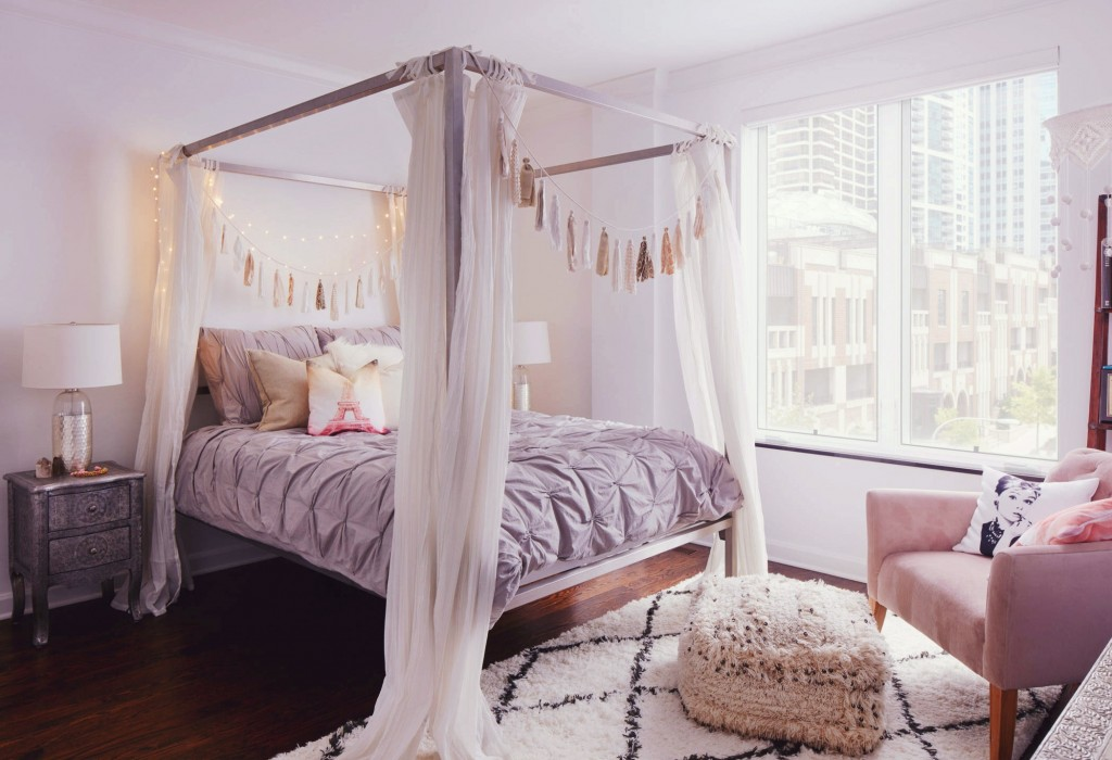 5 Stunning Pastel Rooms Decorating With Pantone 2016 Color throughout Pink Bohemian Bedroom