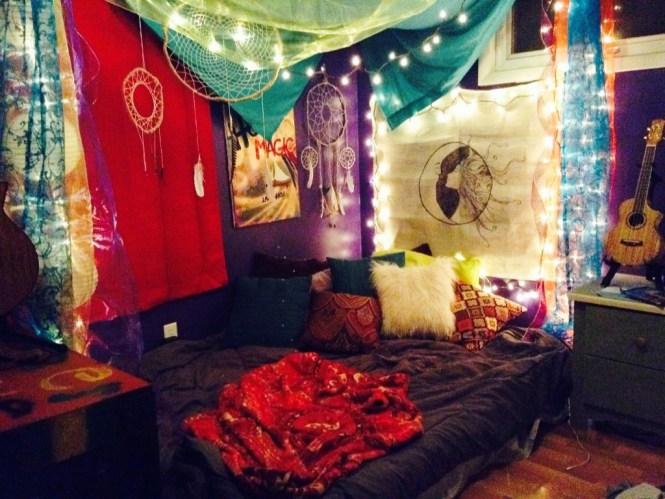 bohemian style room idea 6