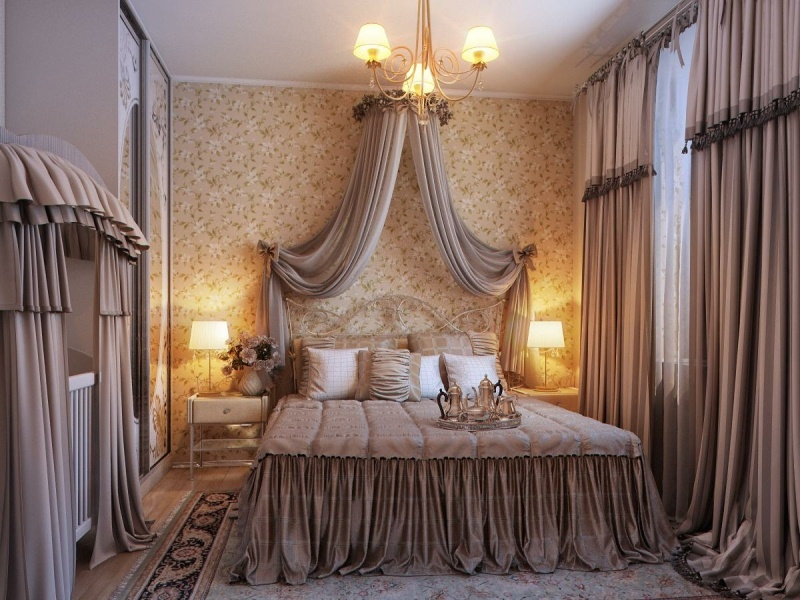 beautiful romantic bedroom