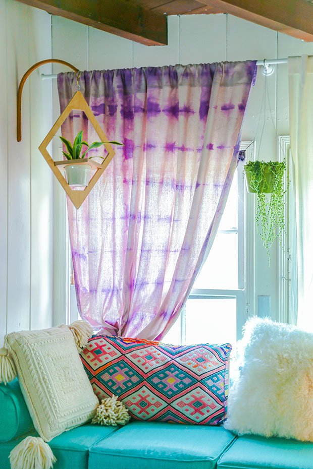 boho curtain for gypsy room decor