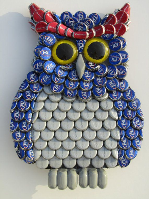 bottle caps wall decor