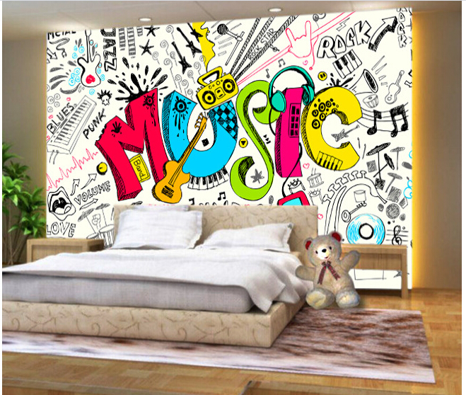 doodling so show your skills from your notes to your bedroom walls