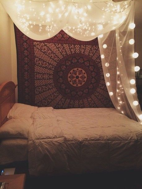 fairy lights bedroom decor