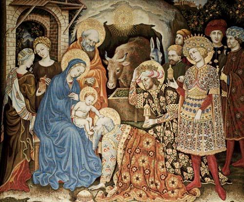 religious tapestry