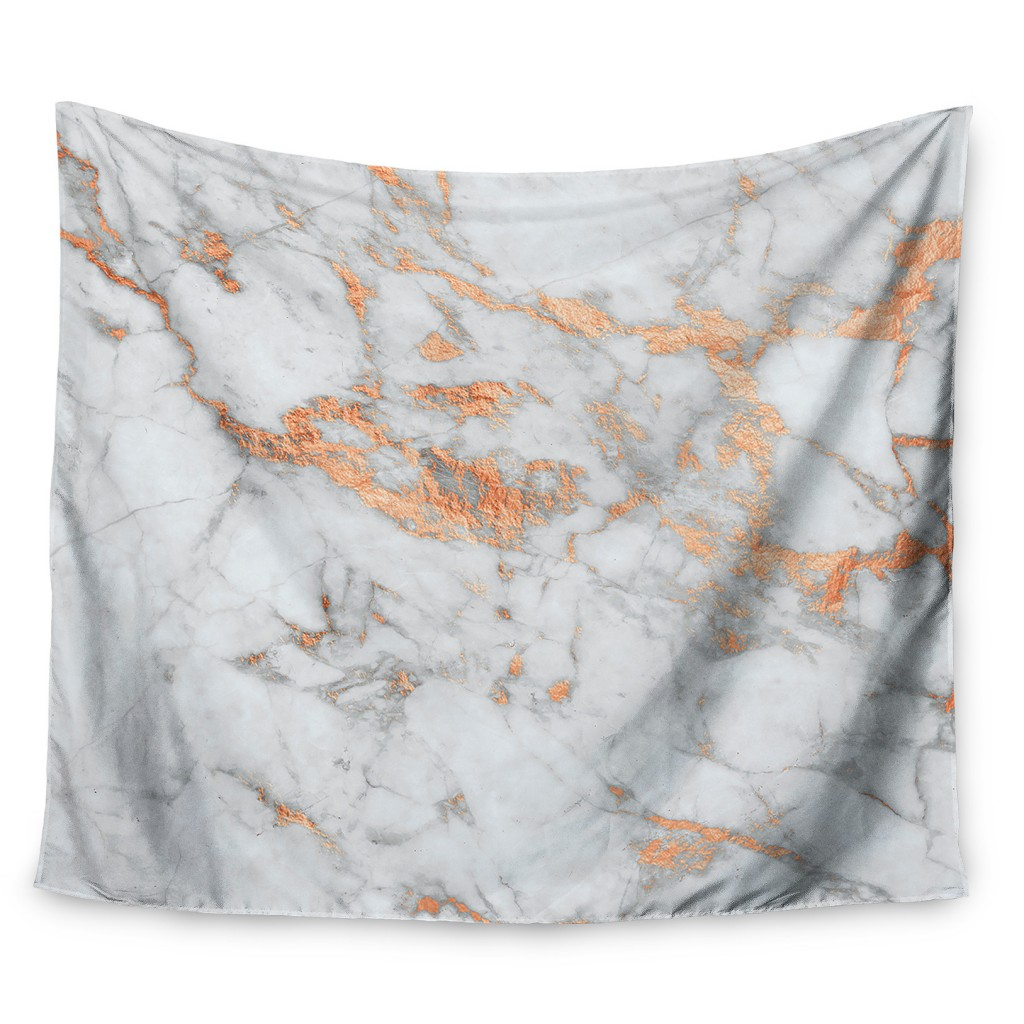 East-Urban-Home-Rose-Gold-Flake-Wall-Tapestry