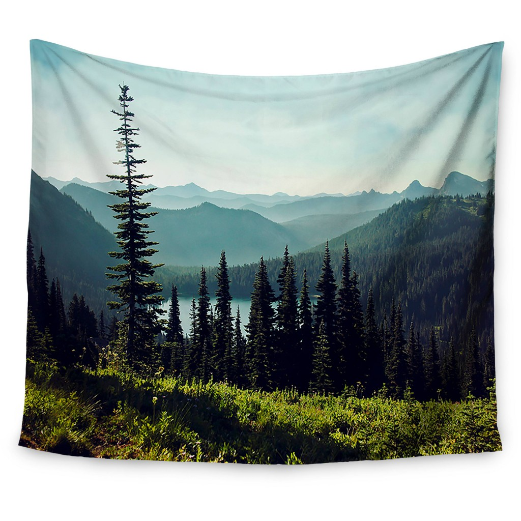 Green Landscape Sylvia Cook Discover Your Northwest Wall Tapest