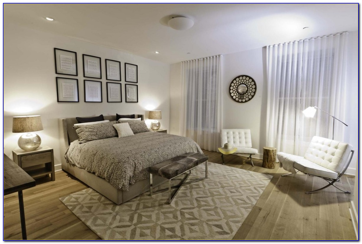 Give a best look to bedroom with few designing tips for Bedroom rugs