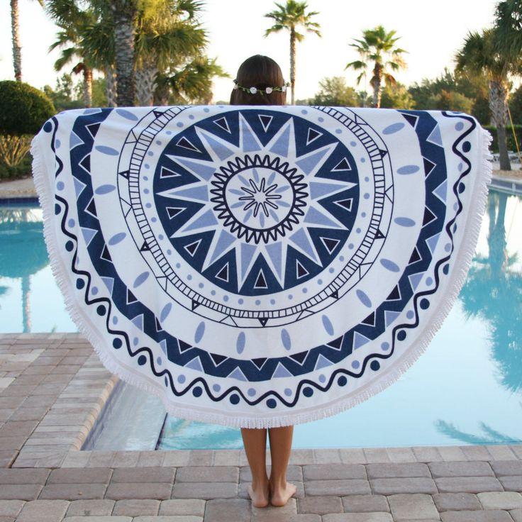 medallion beach blanket