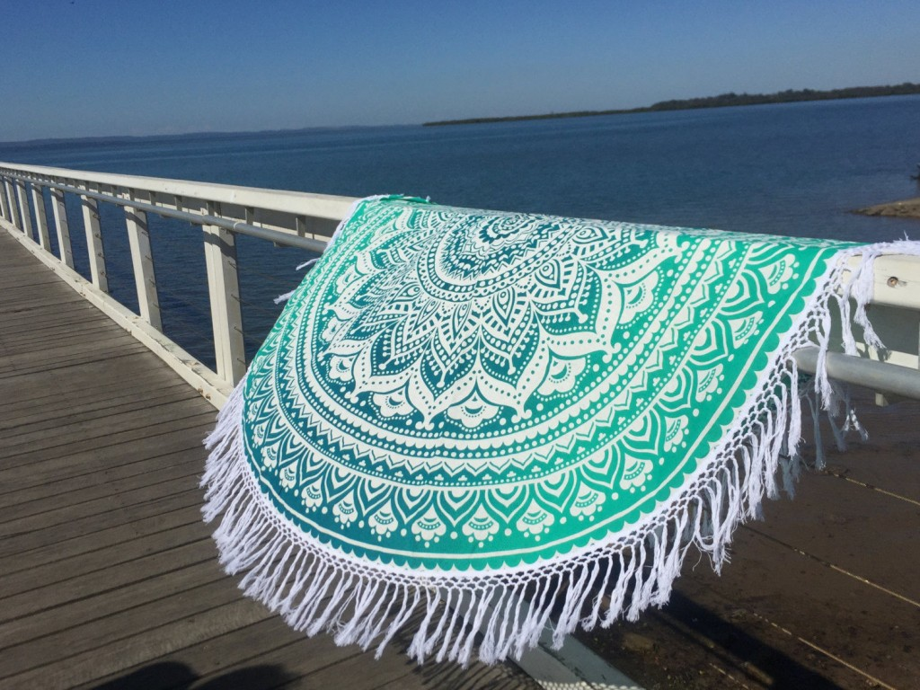 ombre beach blanket