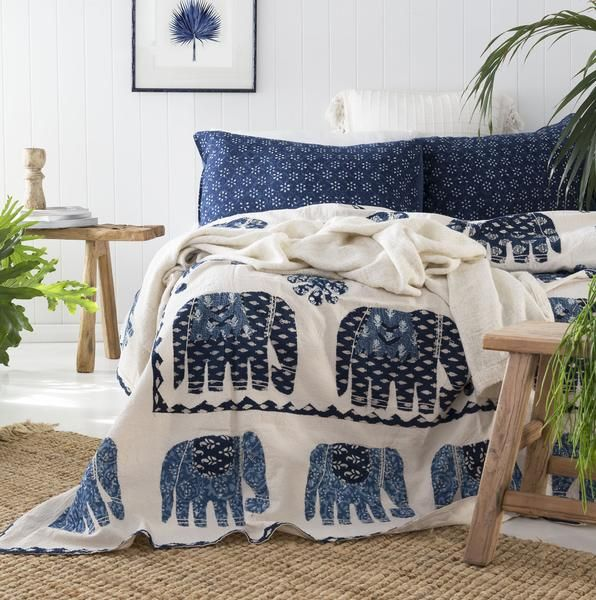 Elephant bedding bedroom