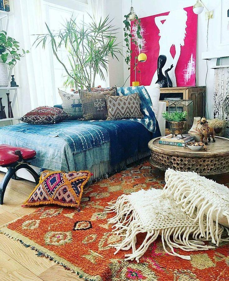 bohemian bedding bedroom