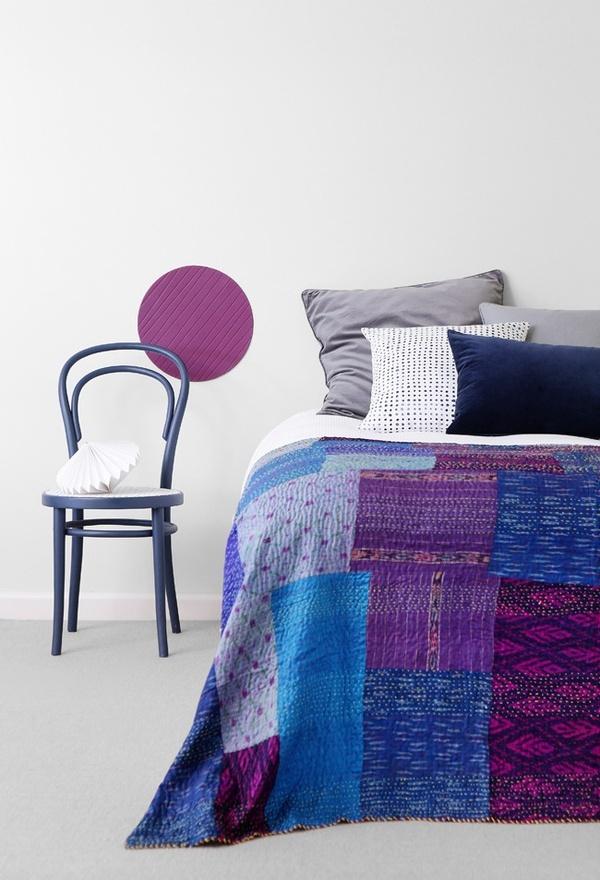 bohemian bedding set bedroom space