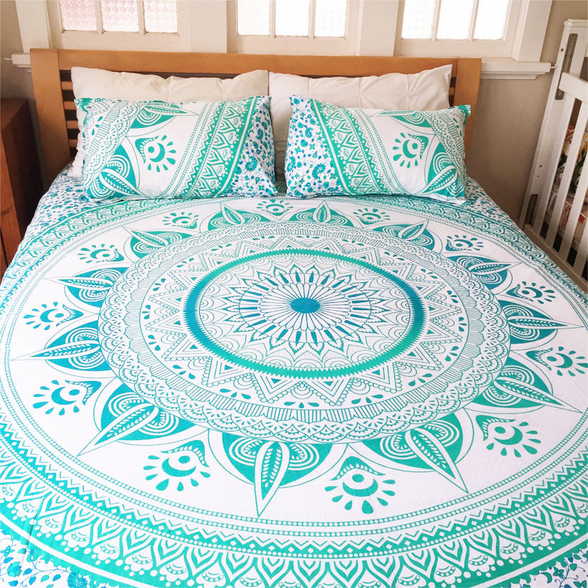 bohemian bedroom bedding