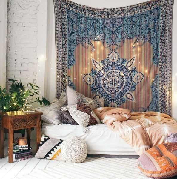 boho tapestry bedding