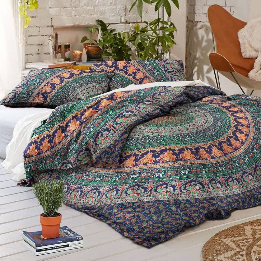mandala bedding