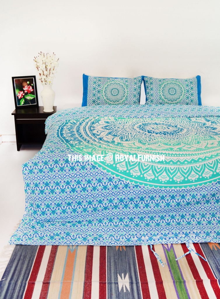 mandala bedding bedroom