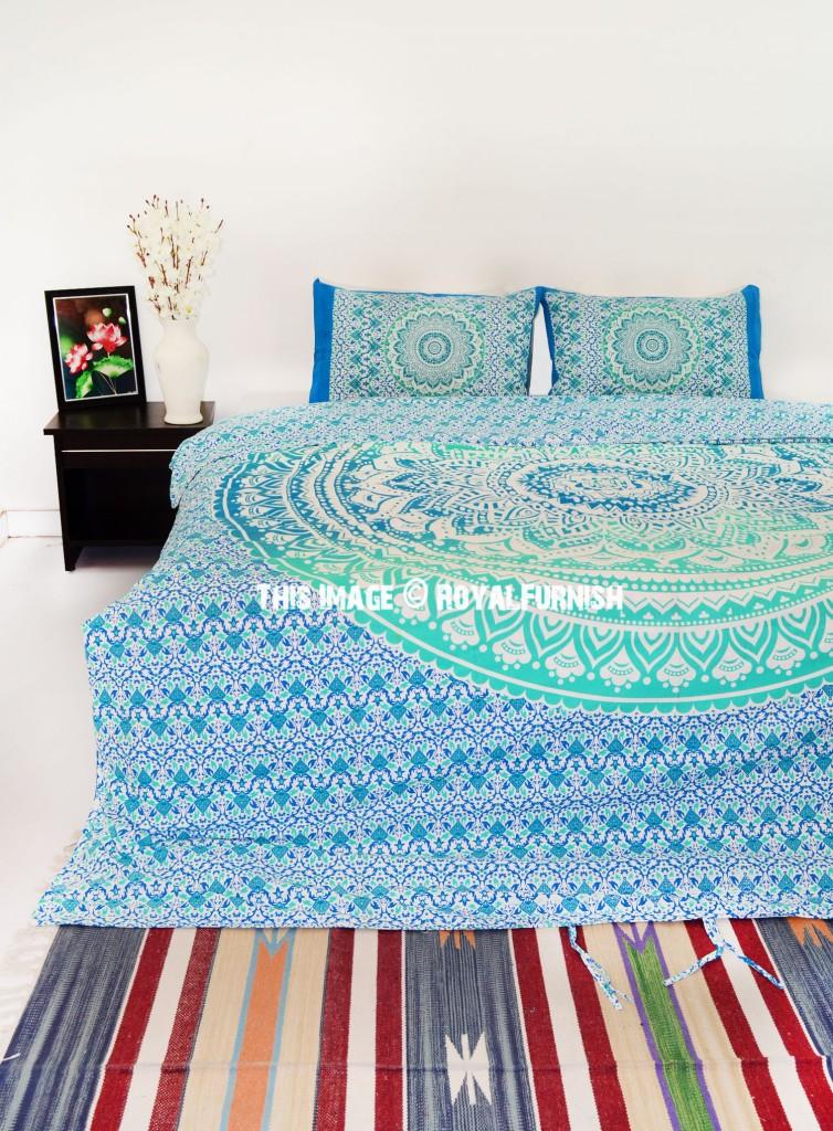 mandala bedding bedroom