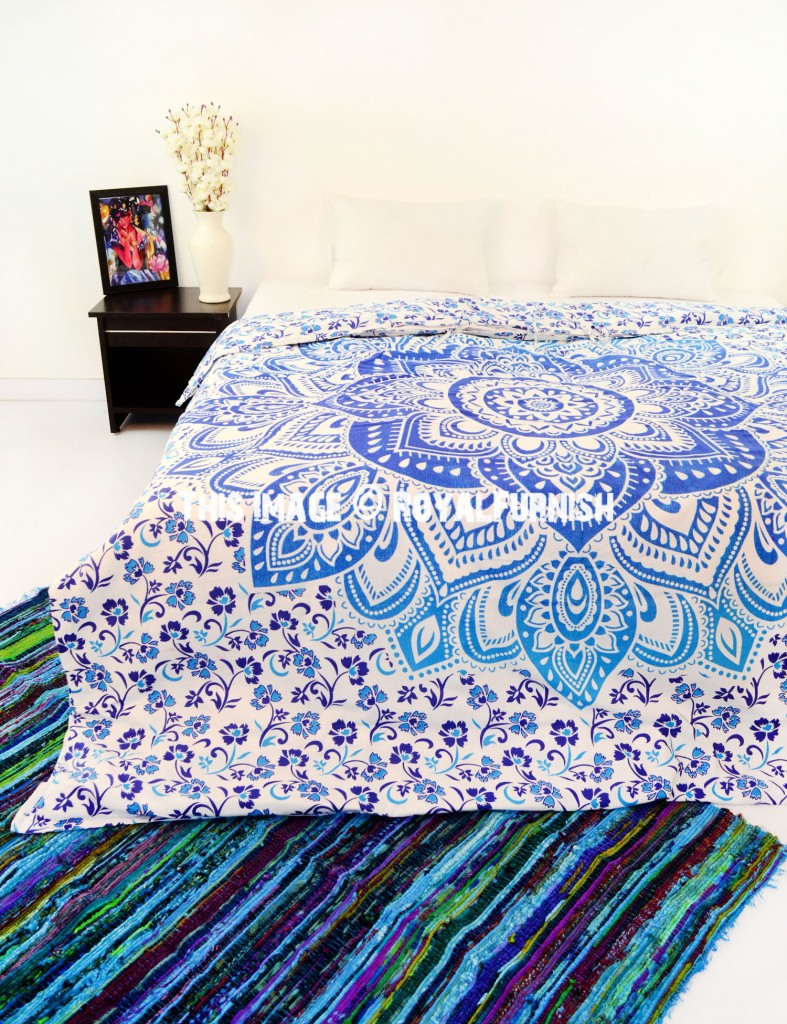 mandala bedding set one