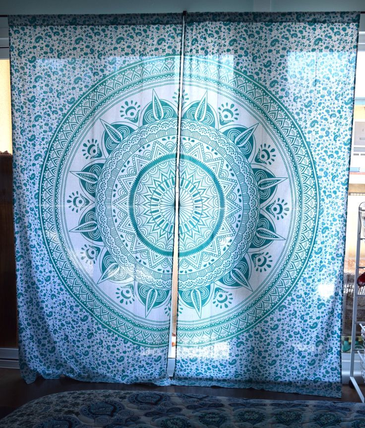 tapestry curtain