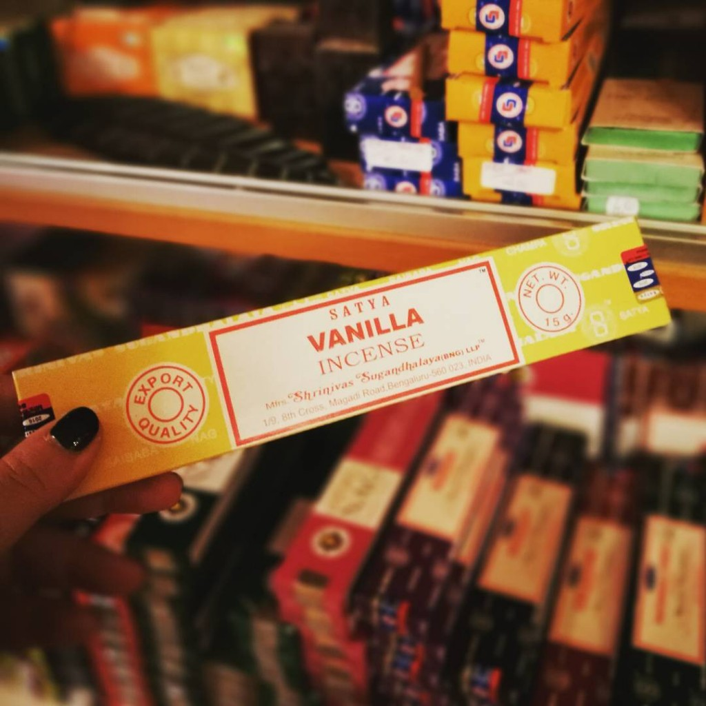 Vanilla incense sticks
