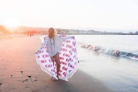 beach round